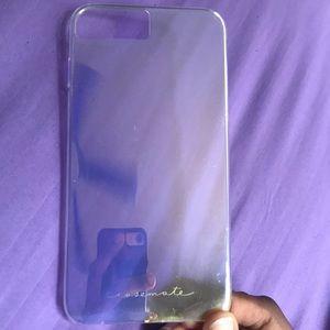 Holographic IPhone 8 Plus Casemate Case